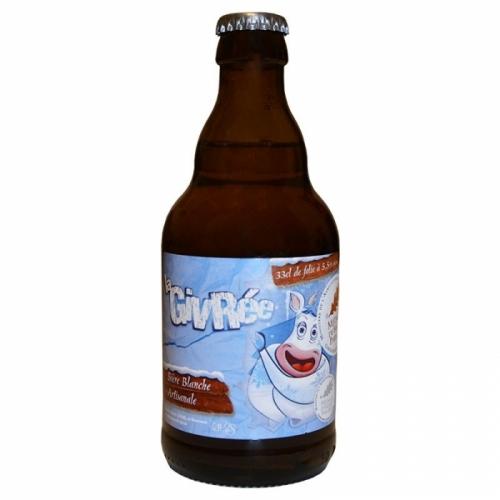 Bière blanche artisanale La Givrée de Sutter