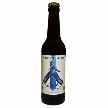 Bière brune artisanale La Gueule Noire