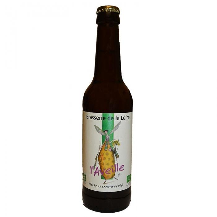 Bière blonde artisanale au Miel L'Aveille