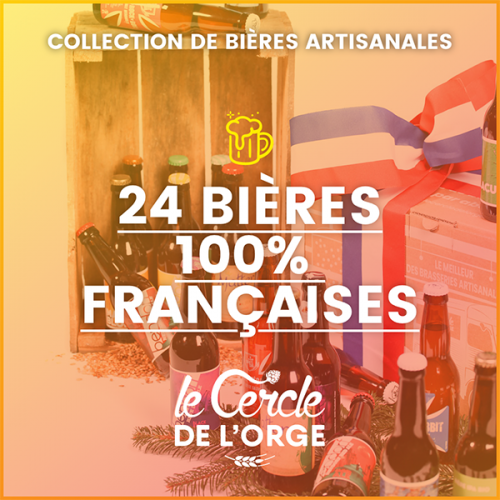 Collection de 24 bières...